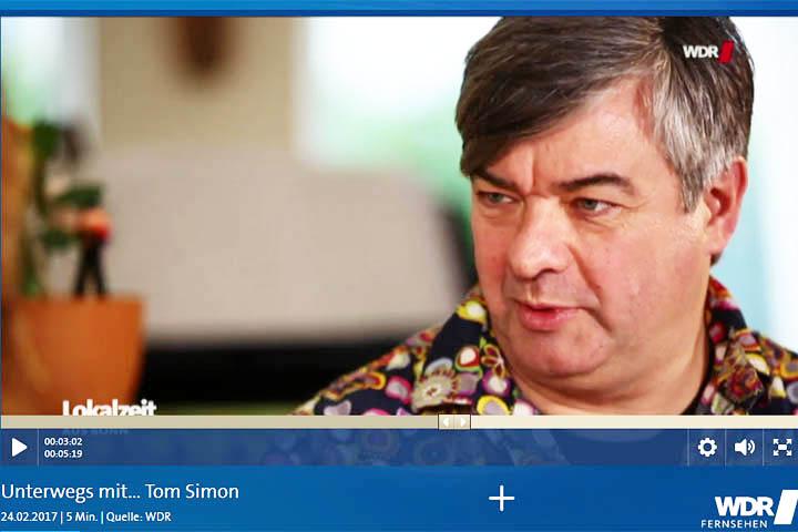 Unterwegs mit Tom Simon